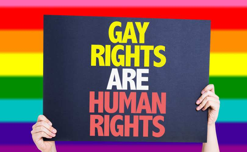Gay activist human rights