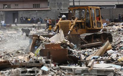 demolition-bulldozer