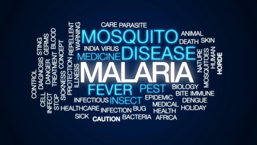 malaria-word-cloud