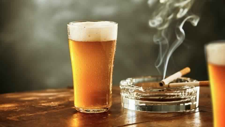beer-cigarette